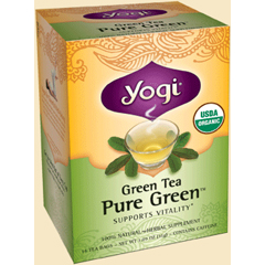 BFG27099 - Yogi TeasGreen Tea Pure Green