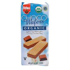 BFG39443 - HelwaOrganic Chocolate Wafers