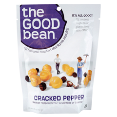 BFG01278 - The Good BeanCracked Pepper Chickpea Snack Gluten-free