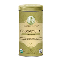 BFG60822 - Zhena's Gypsy TeaCoconut Chai Green Tea