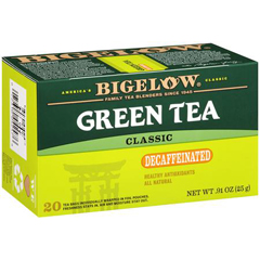 BFG28257 - BigelowGreen Tea Decaffeinated