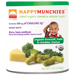 BFG46351 - Happy BabyBroccoli, Kale & Cheddar Cheese Munchies