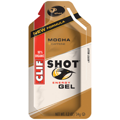 BFG53071 - Clif BarMocha Clif Shot Energy Gel with Caffeine