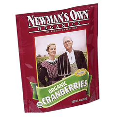 BFG35176 - Newman's Own OrganicsDried Cranberries