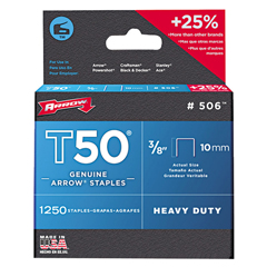ARF091-506 - Arrow FastenerT50 Type Staples