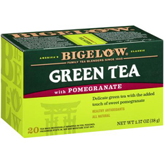 BFG60628 - BigelowGreen Tea with Pomegranate