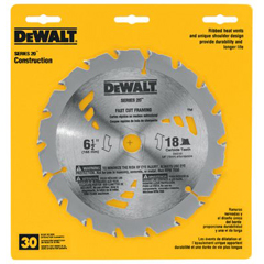 DEW115-DW3582 - DeWaltPortable Construction Saw Blades