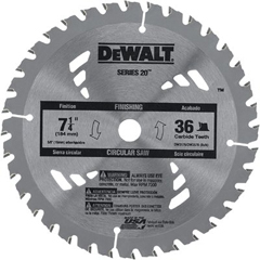 DEW115-DW3176 - DeWaltPortable Construction Saw Blades