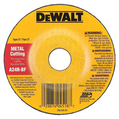 DEW115-DW8406 - DeWaltType 27 Depressed Center Wheels