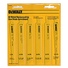DEW115-DW4896 - DeWaltReciprocating Blade Sets