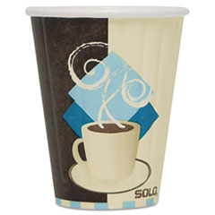 SLOIC8 - Solo Duo Shield™ Insulated 8 oz. Paper Hot Cups