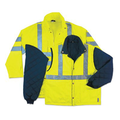 ERG150-24384 - ErgodyneGLoWEAR® 8385 Class 3 4-In-1 Thermal Jackets