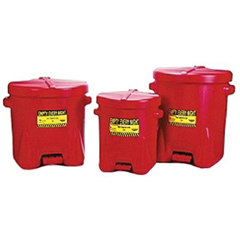 EGM258-937-FL - Eagle ManufacturingPolyethylene Oily Waste Cans