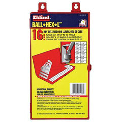 EKT269-13216 - Eklind ToolBall-Hex-L™ Key Sets