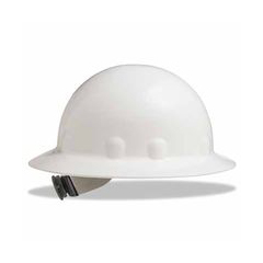 ORS280-E1RW01A000 - Fibre-MetalThermoPlastic Superlectric Hat w/3-r Ratch White