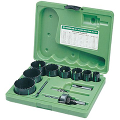 GRL332-891 - GreenleeBi-Metal Hole Saw Kits
