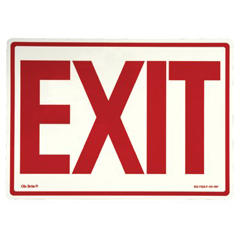 397-EG-7520-F-101-RP - JessupGlow In The Dark Exit Signs