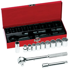 KLT409-65510 - Klein Tools12 Piece Socket Sets