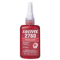 LOC442-32525 - Loctite2760™ Threadlocker, Primerless Medium Strength