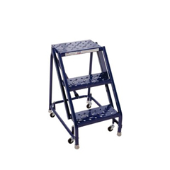 ORS443-GSW2408 - Louisville LadderGSW Series Steel Rolling Warehouse Ladder w/ Handrails