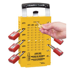 MST470-503YLW - Master LockSafety Series™ Latch Tight™ Lock Boxes