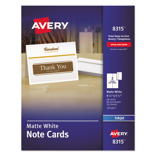 bettymills avery 174 note cards with envelopes avery ave8315