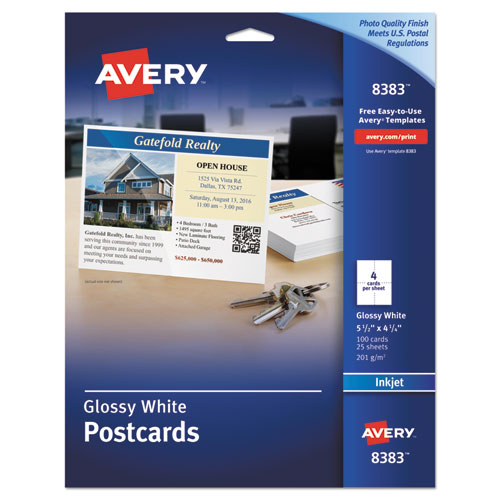 Bettymills avery glossy photo quality postcards avery for Avery template 3380