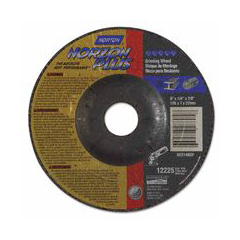 NRT547-66253021633 - NortonType 27 NorZon Plus Depressed Center Grinding Wheels