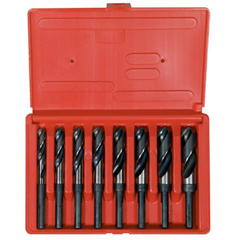 IRW585-90108 - Irwin1/2 Inch Reduced Shank Silver & Deming HSS Drill Bit Sets