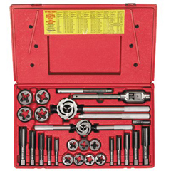 IRW585-98000 - Irwin25-Piece Fractional Tap & Adjustable Round Die Master Sets