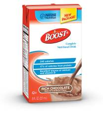 MON38262601 - Nestle Healthcare NutritionOral Supplement BOOST® Rich Chocolate 8 oz.