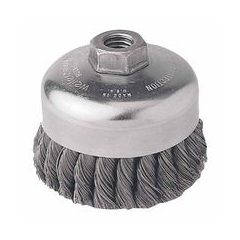 WEI804-12316 - WeilerGeneral-Duty Knot Wire Cup Brushes