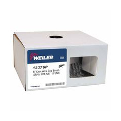 WEI804-12376P - WeilerGeneral-Duty Knot Wire Cup Brushes