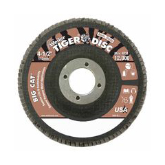 WEI804-50764 - WeilerBig Cat® High Density Flat Style Flap Discs