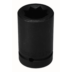 WRT875-8952R - Wright Tool8 Point Double Square Deep Impact Railroad Sockets