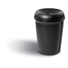 RCP9058BLA - Atrium™ Funnel Top Waste Container