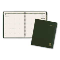 AAG70260G60 - AT-A-GLANCE® Recycled Monthly Planner