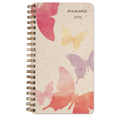 AAG791300G - AT-A-GLANCE® Watercolors Weekly/Monthly Planner