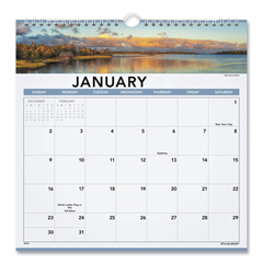 AAG88200 - AT-A-GLANCE® Landscape Monthly Wall Calendar
