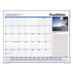 AAGDMD10032 - AT-A-GLANCE® Recycled Inspirational Desk Pad