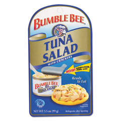 BFVAHF70777 - Bumble BeePremixed Tuna Salad with Crackers