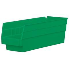 AKR30120GREENCS - Akro-Mils12 inch Nesting Shelf Bin Box
