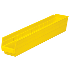 AKR30124YELLOCS - Akro-Mils24 inch Nesting Shelf Bin Box