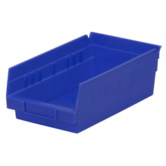 AKR30130BLUECS - Akro-Mils12 inch Nesting Shelf Bin Box