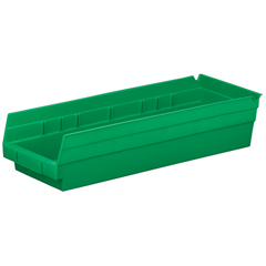 AKR30138GREENCS - Akro-Mils18 inch Nesting Shelf Bin Box