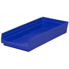 AKR30174BLUECS - Akro-Mils24 inch Nesting Shelf Bin Box