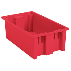 AKR35185REDCS - Akro-Mils18 inch Nest & Stack Totes