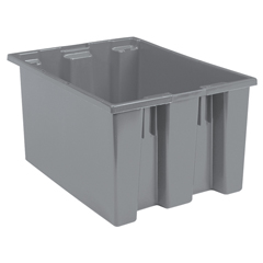 AKR35225GREYCS - Akro-Mils23.5 inch Nest & Stack Totes