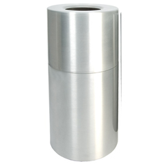 WITAL35-CLR - Witt IndustriesDecorative Aluminum Series Large Receptacle