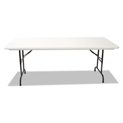 ALEFA307223 - Alera® Blow Molded Resin Top Folding Table